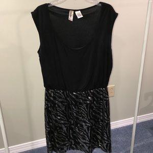 Sequence zebra club dress